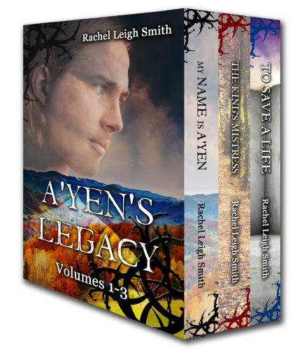 Book Cover: A'yen's Legacy Volumes 1-3